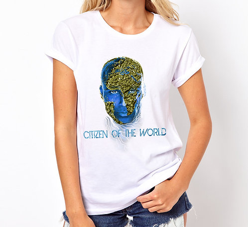 T-Shirt Citizen Of The World