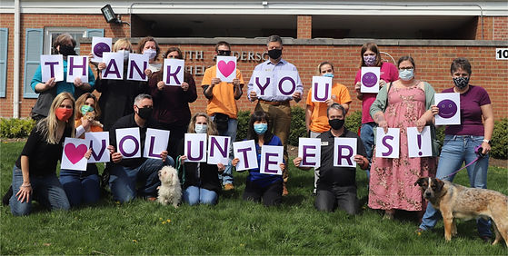 Thank you Volunteers - April 2021 - crop