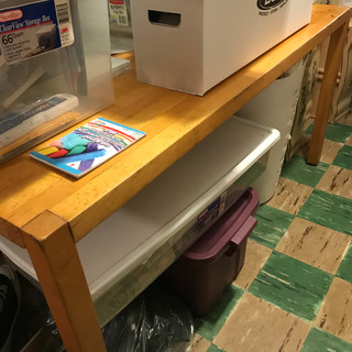 Lee's work table (solid wood)