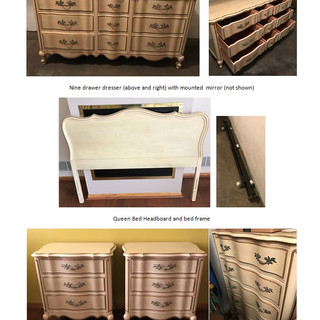 French Provincial Bedroom Set from 2211