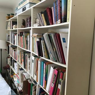 1-4 five-shelf bookshelves