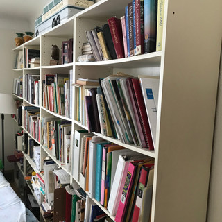 1-4 five-shelf bookshelves