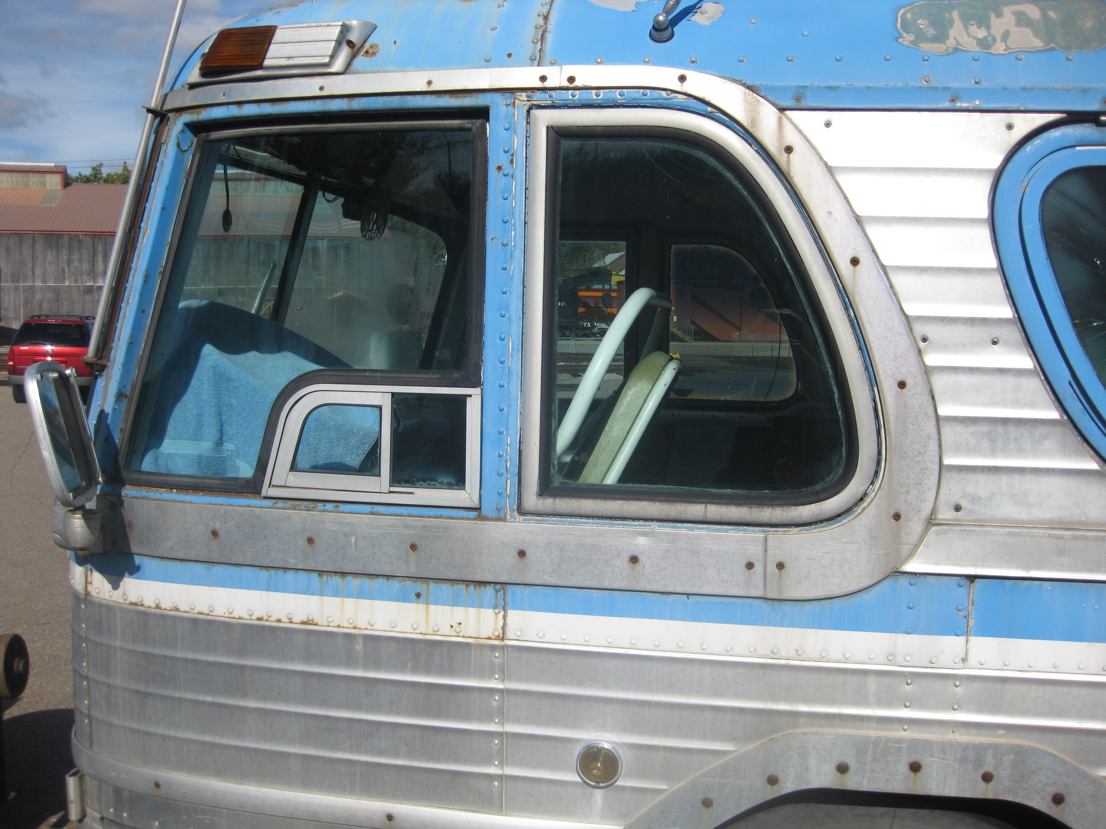 Driver and 'D' window