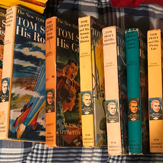 14 Tom Swift books
