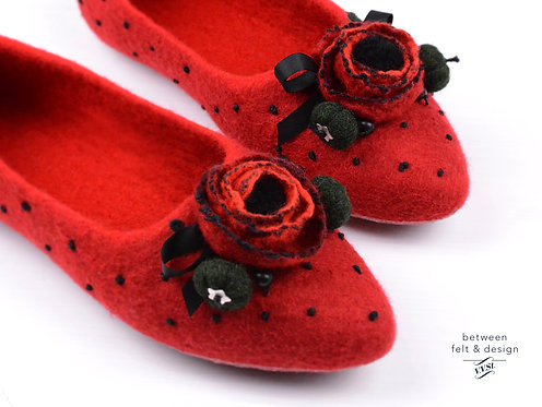 Red Poppy / made to order