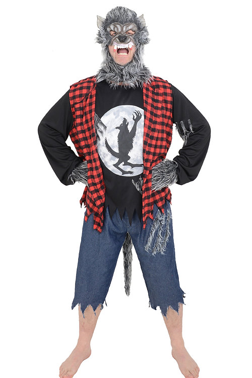 Little Babas Toys and Costumes   ADULT WEREWOLF HALLOWEEN COSTUME