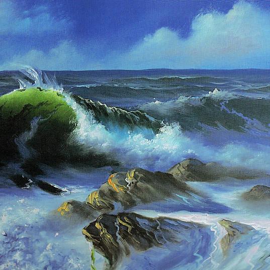 Ocean - Oil Painting