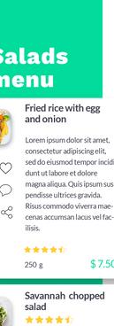 salads detail