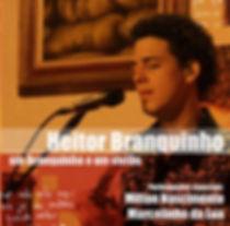 Capa do CD um Branquinho e um violão