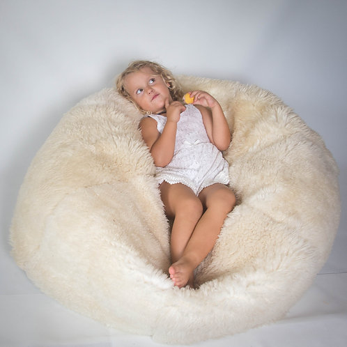 Sheep Skin Bean bag