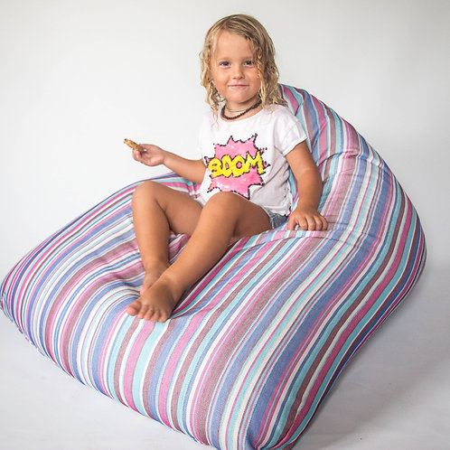 Kids Beanbag stripes