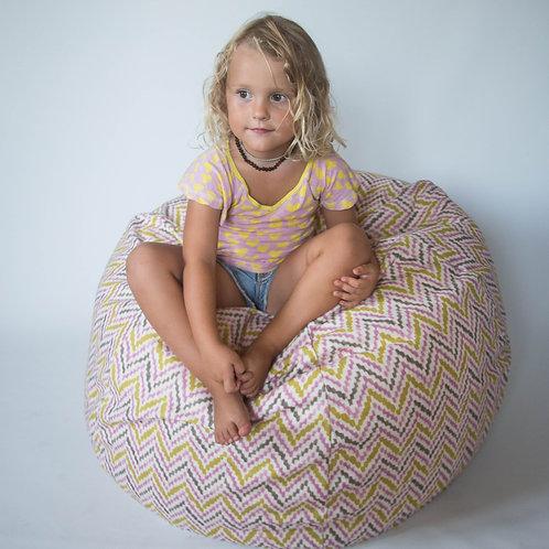 Round shape beanbag