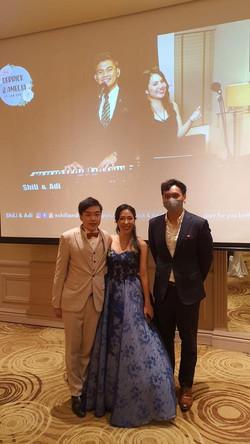 Derrick & Amelia @ Mandarin Oriental