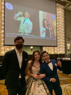 John & Mandi @ W Hotel Singapore