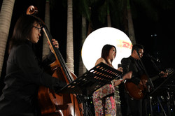 Jazz Trio for DHL's networking dinner