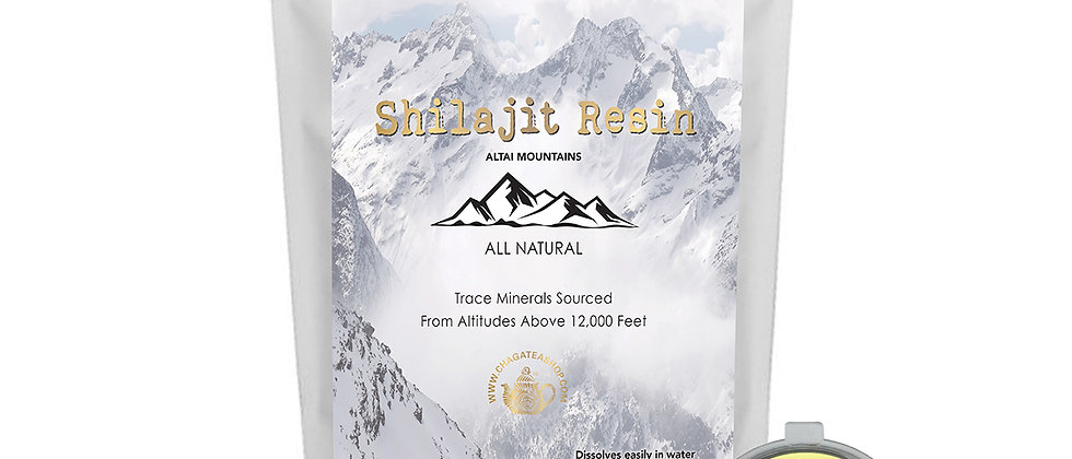 Authentic & Pure Shilajit Resin from Altai Mountains, All Natural