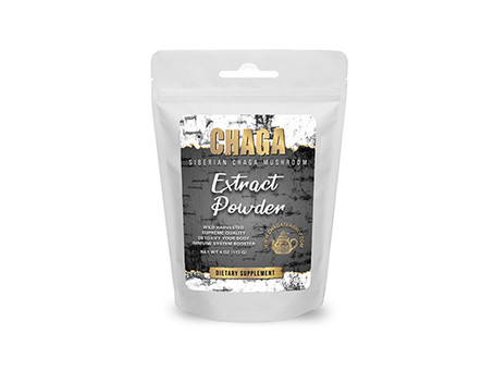 Chaga Extract, the world's most potent supplement.