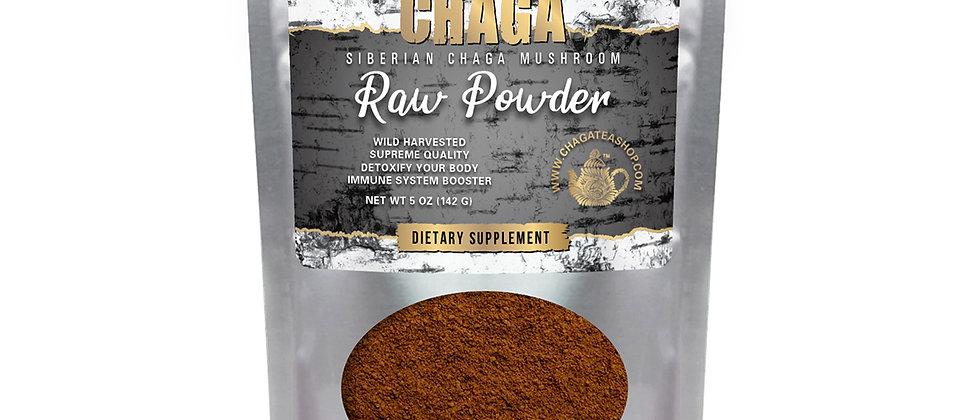 Siberian Chaga Mushroom Raw Powder 5 Oz (142g)