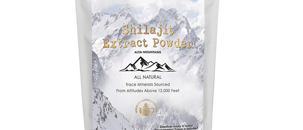 Shilajit Extract Powder Freeze Dryfrom Altai Mountains