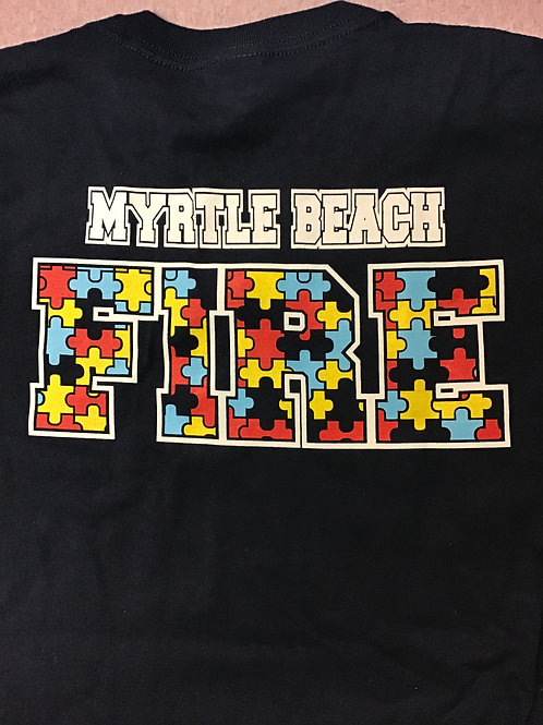 MBFD Autism Awareness Shirt