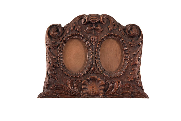 Baroque style Double Picture Frame