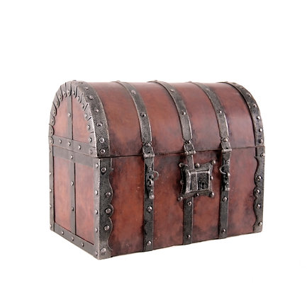 Medieval style Tax Collector's Box