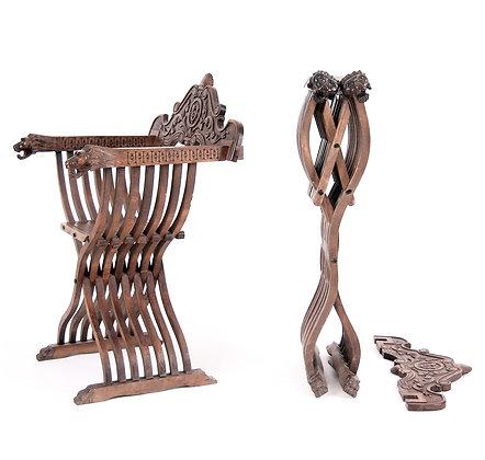 Savonarola style Folding Chairs