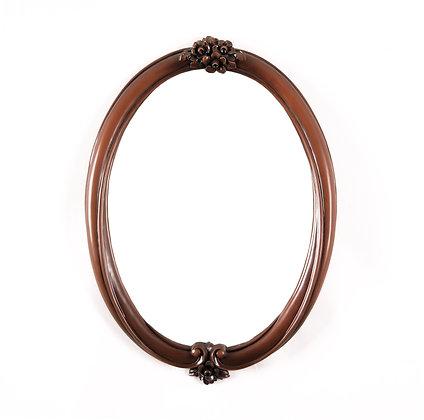 Mirror in Mahogany Frame