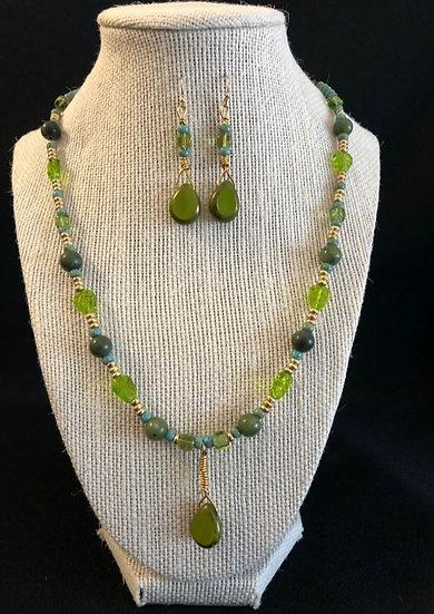 Green Droplet Design Set