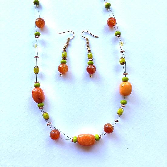 Orange & Green Set