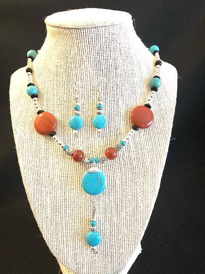 Turquoise & Amber Set
