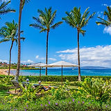 wailea beach villa resort view