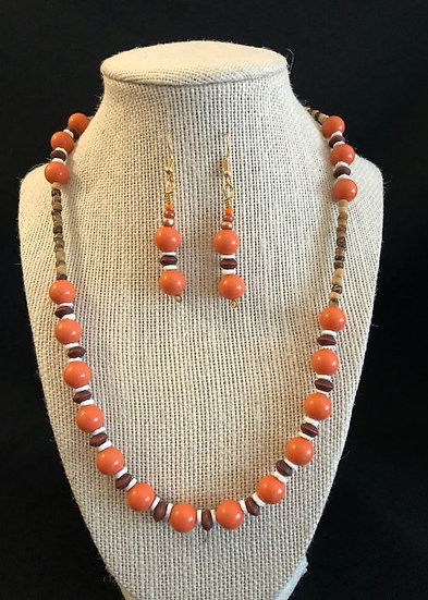Orange & Ruby Set