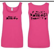 Dirty Pink Womens Tank Top
