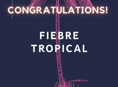🎉🥂Juliana Delgado Lopera's FIEBRE TROPICAL is a finalist for the Kirkus Prize for Fiction! 🎉🥂