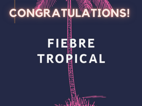🎉🥂Juliana Delgado Lopera's FIEBRE TROPICAL is a finalist for the Kirkus Prize for Fiction! 🎉🥂