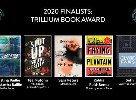🎉 Téa Mutonji's Shut Up You're Pretty is a Trillium Book Award Finalist! 💫