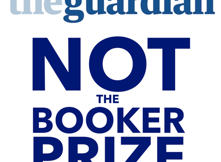 8 TITLES ON THE GUARDIAN NOT THE BOOKER LONGLIST!