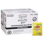 lipton envelope tea bags catering p ack.