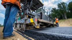 road construction asphalt australia