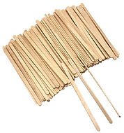 wooden stirrers coffee