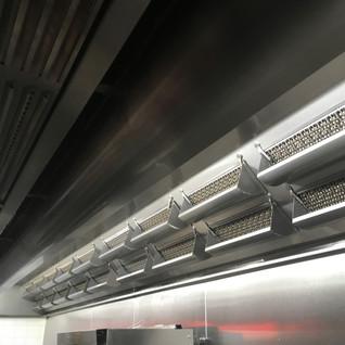coanda kitchen exhaust hoods