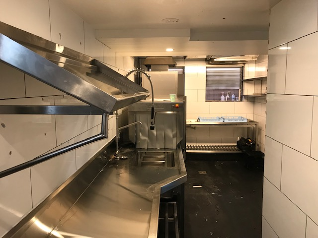 Dishwasher refit by Austmont