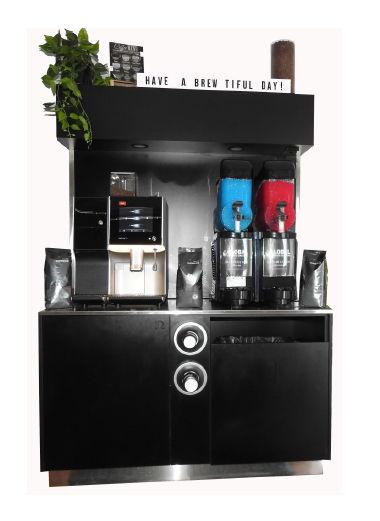 beverage station coffee and slushie mach