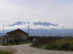 View of Bucegi