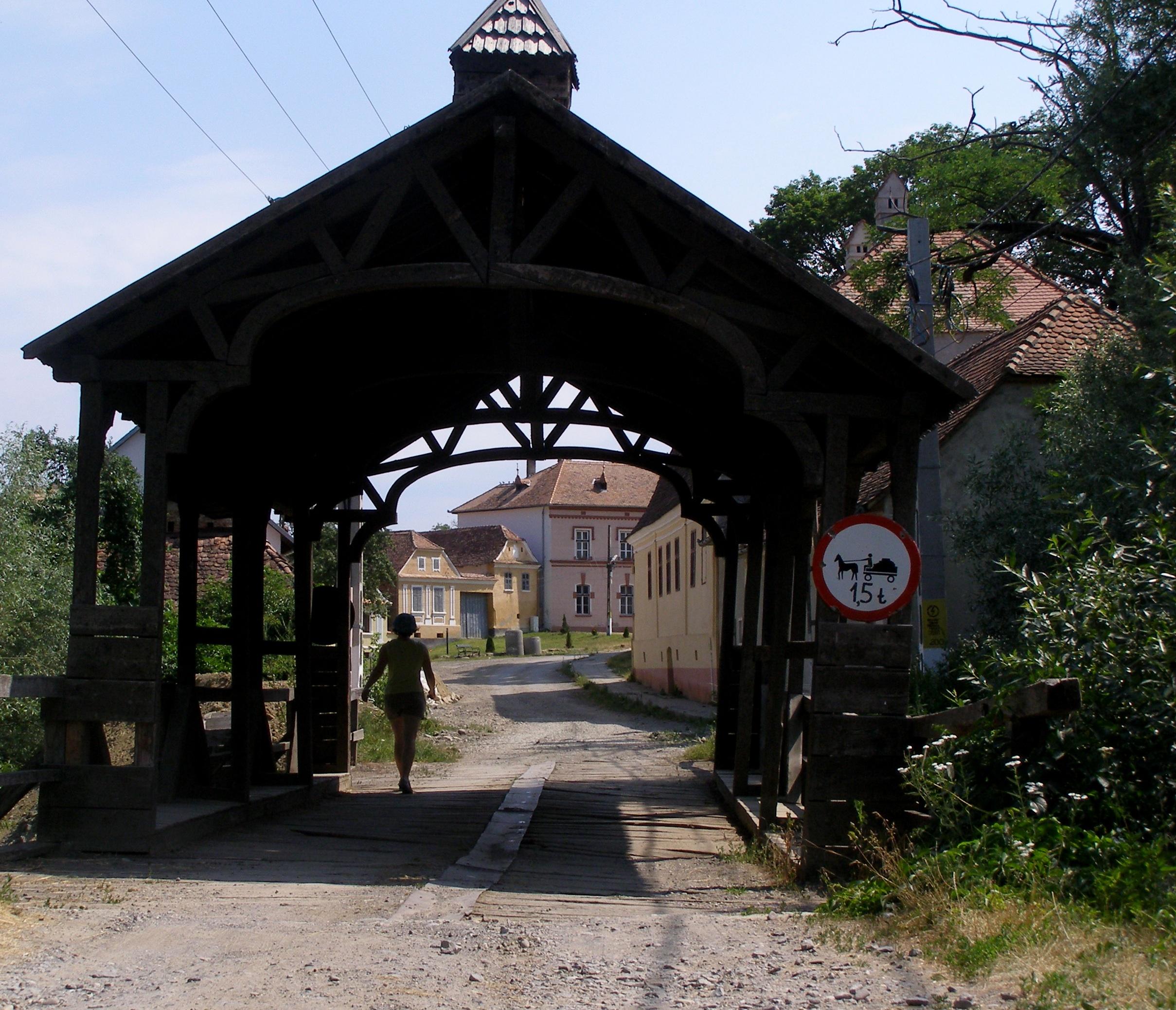 Saschiz bridge