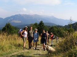 We like hiking!