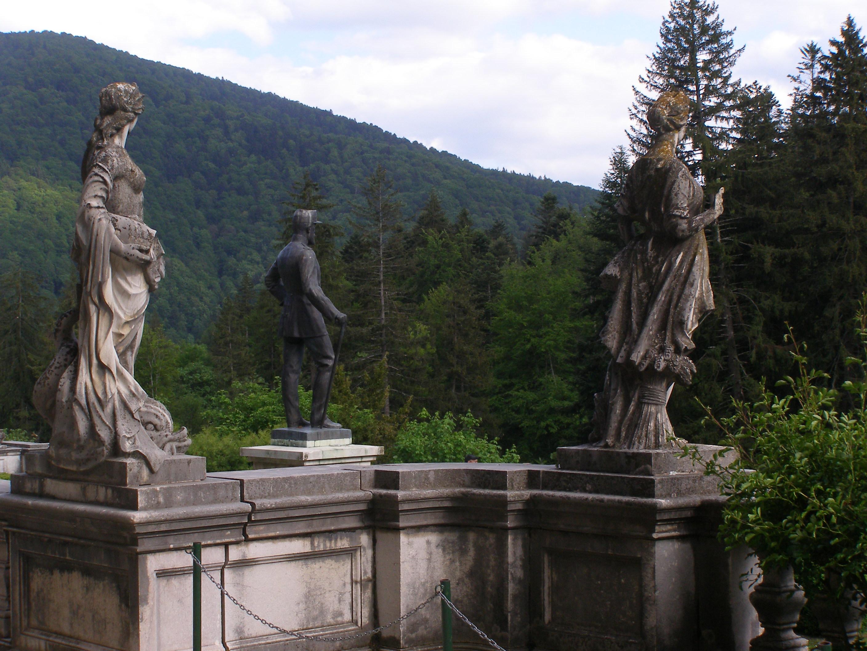 Statues at Castle Peles
