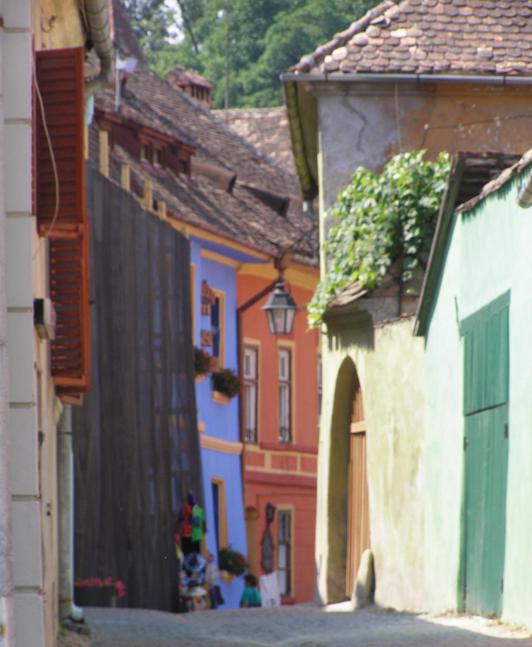 Streets of Sighisoara
