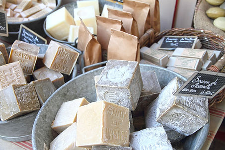 Organic soap, soap loaf, lavender soap